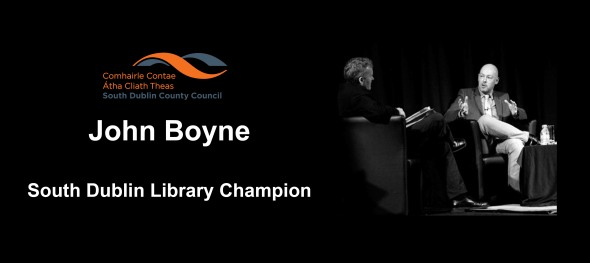John Boyne Library Champion